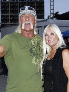 Hulk and Linda Hogan in 2007