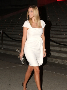 Ivanka Trump attends the Vanity Fair party for the 2009 Tribeca Film Festival at the State Supreme Courthouse on April 21, 2009 in New York City