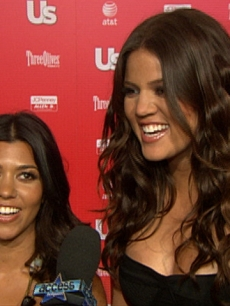 Kourtney and Khloe Kardashian dish to Access