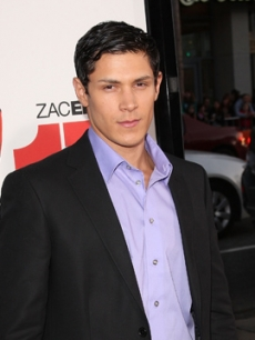 Alex Meraz hits the red carpet at the '17 Again' premiere in Hollywood (April 2009)