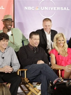 'I'm A Celebrity…Get Me Out of Here!' cast Janice Dickinson, John Salley, Executive Producer Chris Brogden, Executive Producer Jayson Dinsmore, RodBlagojevich, Stephen Baldwin, Torrie Wilson and Sanjaya Malakar