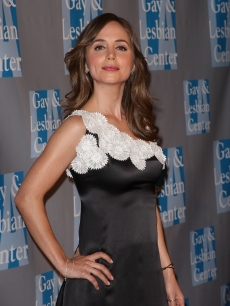 Eliza Dushku holds her head high at An Evening With Women Celebrating Art, Music, & Equality at The Beverly Hilton Hotel on April 24, 2009