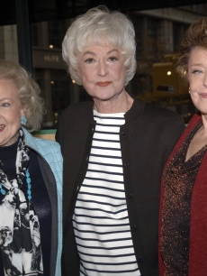 'Golden Girls' stars Betty White, Bea Arthur and Rue McClanahan reunite in New York in 2005