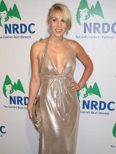 Natasha Bedingfield smiles at the National Resources Defense Council 20th Anniversary Celebration at the Beverly Wilshire Hotel on April 25, 2009