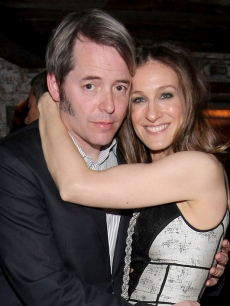 Matthew Broderick and Sarah Jessica Parker at the 'Wonderful World' premiere after party at the 2009 Tribeca Film Festival