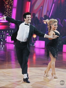 Mark Ballas and Shaun Johnson show off more of their fancy moves on 'Dancing'