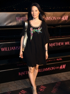 Lucy Liu attends the launch of 'Matthew Williamson for H&M' Spring 2009 collection at The Majesty on April 28, 2009 in New York City