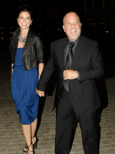 Katie Lee Joel and Billy Joel attend the Howard Stern's and Beth Ostrosky 's wedding at Le Cirque on October 3, 2008 in New York City