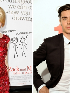 Elizabeth Banks and Zac Efron