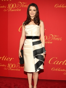Rachel Weisz attends the Cartier 100th Anniversary in America Celebration at Cartier Fifth Avenue Mansion on April 30, 2009 in New York City