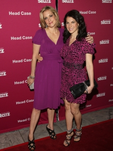 Ali Wentworth and Jessica Seinfeld attend a screening of 'Head Case' at the MoMA Sculpture Garden on April 30, 2009 in New York City