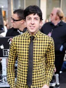Christopher Mintz-Plasse smiles at the premiere of &#8216;Star Trek&#8217; in Hollywood