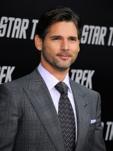 Eric Bana arrives at the premiere of 'Star Trek' in Hollywood