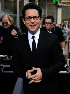 Director J.J. Abrams at the Hollywood premiere of his latest film, 'Star Trek'
