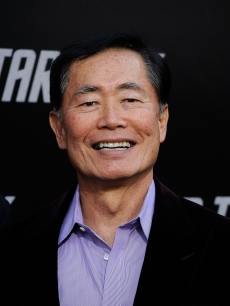 Original series star George Takei arrives at the premiere of &#8216;Star Trek&#8217; in Hollywood