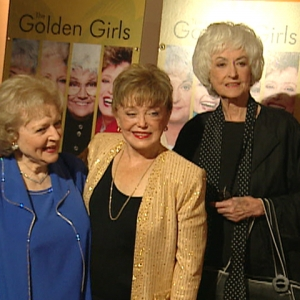 Bea, Betty & Rue Talk 'Golden Girls' DVD Release (2004)