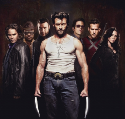 The cast of 'X-Men Origins - Wolverine'