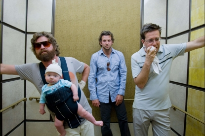 Bradley Cooper, Ed Helms and Zach Galifianakis are 'Hung Over'