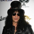Slash arrives at the Classic Rock N' Roll of Honour at the Park Lane Hotel on November 3, 2008 in London