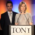 Lin-Manuel Miranda and Cynthia Nixon announce the nominations for the Broadway's 2009 Antoinette Perry 'Tony' Awards, in New York