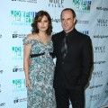 Mariska Hargitay and Chris Meloni pose for a photograph at the 2009 Joyful Heart Foundation Gala at Terminal 5 on May 5, 2009 in New York City