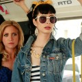 Brittany Snow and Krysten Ritter on the set of the nixed 'Gossip Girl' spin-off