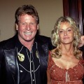 Ryan O' Neal and Farrah Fawcett attend the Share Inc., 51st Annual Boomtown Party at the Century Plaza Hotel & Spa on May 15, 2004 in Century City, California