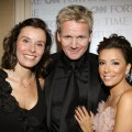 Gordon Ramsay, Tana Ramsay and Eva Longoria Parker attend the White House Correspondents dinner, May 9, 2009