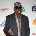 Dennis Rodman attends 'The Celebrity Apprentice' season finale at the at American Museum of Natural History on May 10, 2009 in New York City