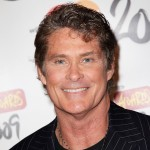 David Hasselhoff arrives for the Brit Awards 2009 held at Earls Court on February 18, 2009 in London, England