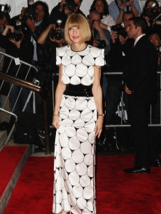 Editor-in-chief of American Vogue Anna Wintour attends &#8216;The Model as Muse: Embodying Fashion&#8217; Costume Institute Gala at The Metropolitan Museum of Art on May 4, 2009 in New York City