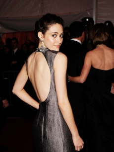 Emmy Rossum attends 'The Model as Muse: Embodying Fashion' Costume Institute Gala at The Metropolitan Museum of Art on May 4, 2009 in New York City