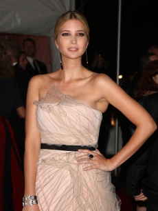 Ivanka Trump attends 'The Model as Muse: Embodying Fashion' Costume Institute Gala at The Metropolitan Museum of Art on May 4, 2009 in New York City