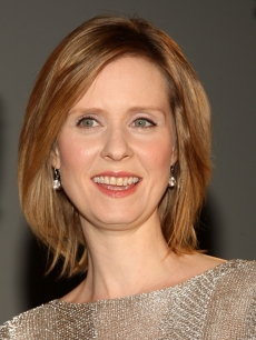 Cynthia Nixon attends the American Theatre Wing&#8217;s 2009 Tony Award nominations at The New York Public Library for Performing Arts on May 5, 2009 in New York City