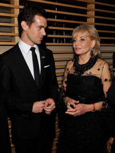 Elizabeth Hasselbeck, Jack Dorsey of Twitter, Barbara Walters and Sherry Shepherd attends the Time's 100 Most Influential People in the World Gala