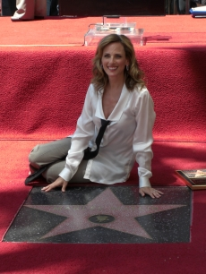 Marlee Matlin receives her star on the Hollywood Walk of Fame