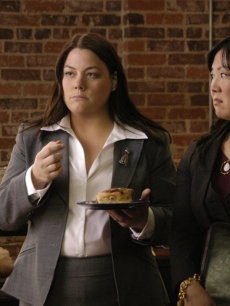 Brooke Elliott and Margaret Cho in 'Drop Dead Diva'