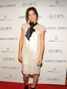 Jessica Stroup attends the C.H.I.P.S. (Colleagues Helpers in Philanthropic Service) 2009 luncheon and fashion show honoring Alberta Ferretti at the Montage Beverly Hills on May 6, 2009 in Los Angeles, California