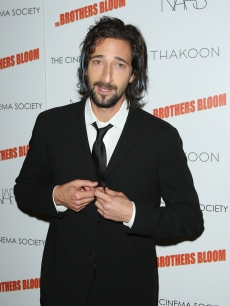 Adrien Brody attends a screening of 'The Brothers Bloom' at the Tribeca Grand Screening Room on May 7, 2009 in New York City