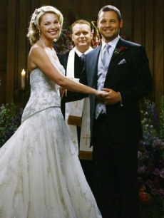 Katherine Heigl and Justin Chambers on &#8216;Grey&#8217;s Anatomy&#8217; (May 7, 2009)