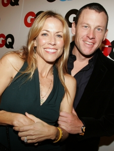 Then-couple Sheryl Crowe and Lance Armstrong in 2005