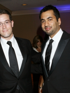 Adam Frankel and Kal Penn attend the White House Correspondents' dinner, May 9, 2009