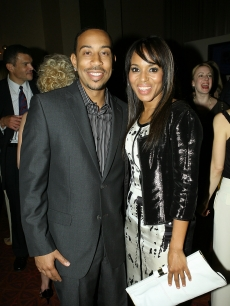 Ludacris (Chris Bridges) and Kerry Washington attend the PEOPLE and TIME cocktail party on the eve of White House Correspondents Dinner at St Regis Hotel
