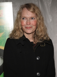 Mia Farrow attends the New York premiere of 'Be Kind Rewind' at Tribeca Cinemas on February 19, 2008 in New York City