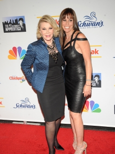 Joan Rivers and Melissa Rivers attend 'The Celebrity Apprentice' season finale at the at American Museum of Natural History on May 10, 2009 in New York City