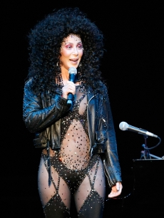 Cher speaks during the 'Hit Man: David Foster and Friends' concert at the Mandalay Bay Events Center May 9, 2009 in Las Vegas, Nevada