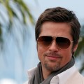 Brad Pitt attends the Inglourious Basterds Photocall held at the Palais Des Festivals during the 62nd International Cannes Film Festival on May 20, 2009 in Cannes