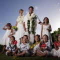 Jon and Kate Gosselin and their eight kids in Hawaii