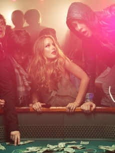 Leighton Meester in a scene from the Cobra Starship video 'Good Girls Go Bad,' May 2009
