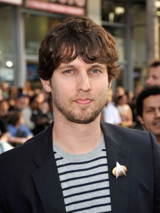 Jon Heder arrives on the red carpet of the Los Angeles premiere of 'Star Trek' at the Grauman's Chinese Theatre on April 30, 2009